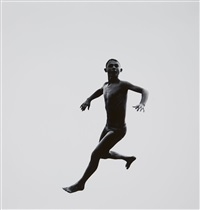 #485 (from the series: pleasure and terror of levitation) by aaron siskind