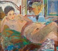 akt z niebieskim stolikiem by anna karpowicz-westner