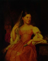 portrait of catherine helena jay by samuel f.b. morse