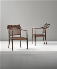 armchairs (pair) by axel einar hjorth