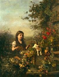 the naughty kitten by olga wisinger-florian