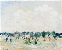 harvest landscape by albert saverys