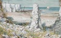 a cove on the shore by cecil gordon lawson
