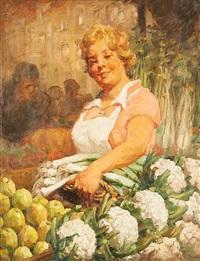 la marchande de fruits by kurt peiser