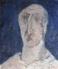 untitled (head) by tyeb mehta