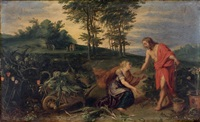 noli me tangere by jan brueghel the younger