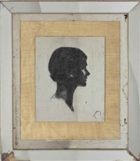 portrait de gabrielle chanel by etienne drian