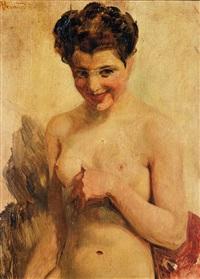 buste de femme by albert besnard