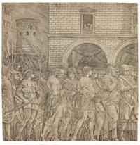 schule - die senatoren by andrea mantegna