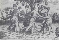 danse des dryades by pierre milan