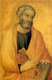 saint peter by simone martini