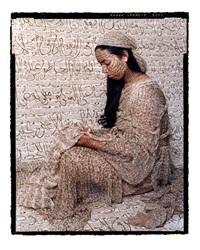 harem woman #2 by lalla essaydi
