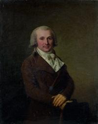 portrait d'homme by antoine vestier