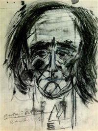 autoportrait by antonin artaud