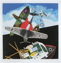battle for britain by malcolm morley
