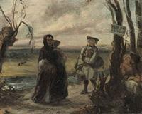 vrije jagt en vissche (caught in the act) by david joseph bles