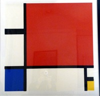 composition by piet mondrian