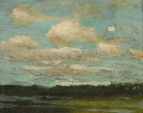 clouds by paul cornoyer