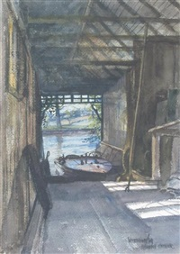the boat shed by james mcintosh patrick