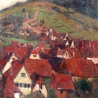pueblo de albersweiler by fernando fader