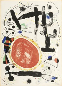 le jour by joan miró