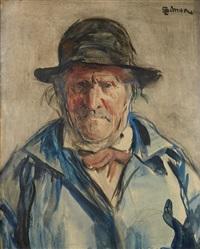 portrait d'homme by lucien simon