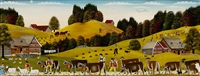 alpfahrt und sommer-alltagsleben im appenzellerland by albert manser