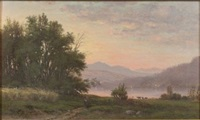 lake view by george frank higgins
