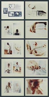 le lait chaud (10 works) by gina pane