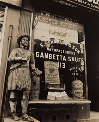 snuff store, 113 division street, manhattan (january 16) by berenice abbott
