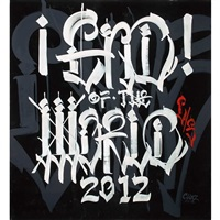 end of the world by chaz bojorquez