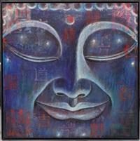 buddha bleu n°9 by ma tse lin