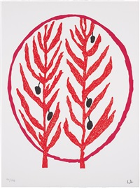 the olive branch (from l'art pour la paix) by louise bourgeois