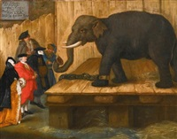 the elephant by pietro longhi