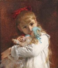 little girl by pierre auguste cot