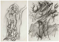 untitled (2 works) by willem de kooning
