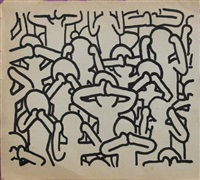 personnages by keith haring