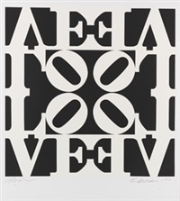 decade (10) by robert indiana
