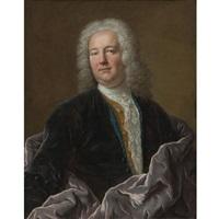portrait of a man by louis tocqué