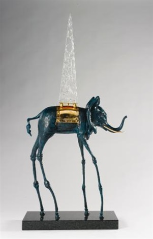 space elephant by salvador dalí