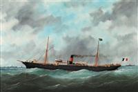 le bateau ile de la réunion by édouard adam