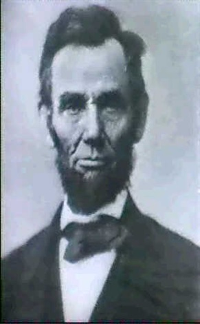 abraham lincoln                       (by alexander gardner as well) by moses p. rice