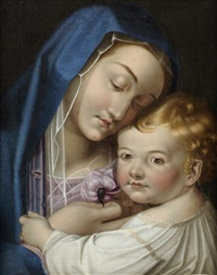 the madonna and child by scipione pulzone