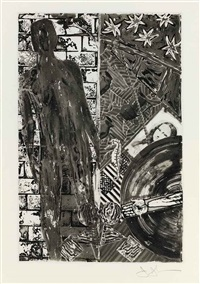 poems (bk of 1 w/title, justif. and text by wallace stevens) by jasper johns