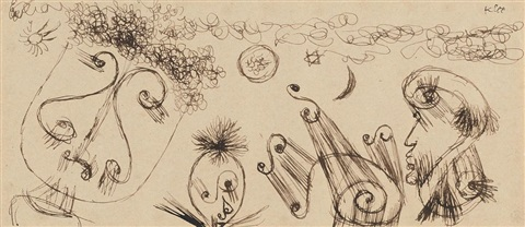astrologische charlatane by paul klee