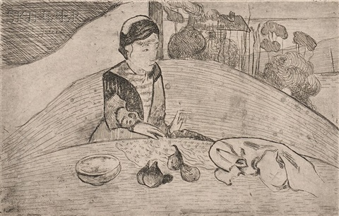 la femme aux figues by paul gauguin