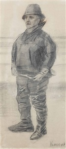 le pêcheur by vincent van gogh