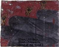 terra incognita (land of the hand) by jitish kallat