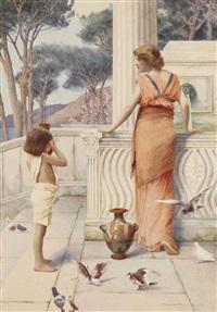 la porteuse d'eau by henry ryland