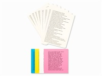 truisms and essays (portfolio of 12) by jenny holzer